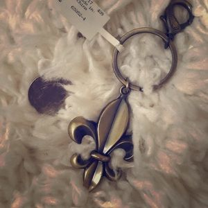 Fleur de Lis Key Chain